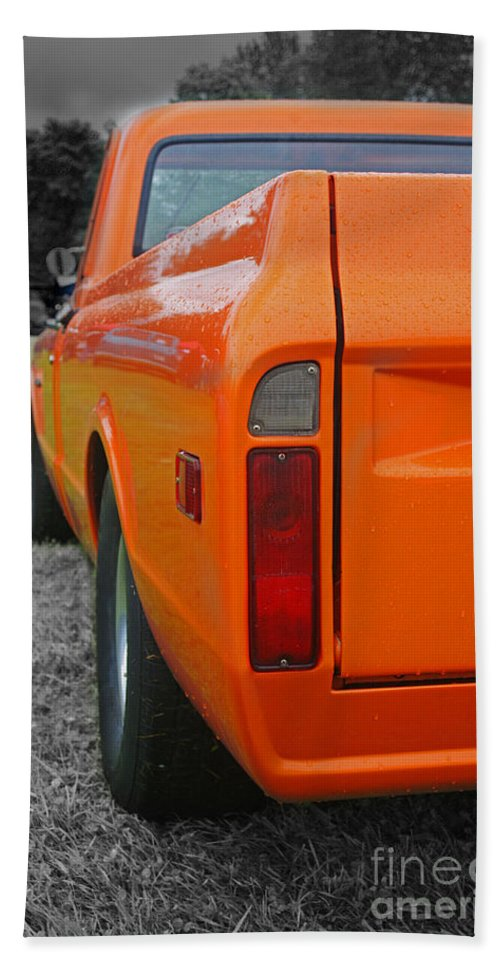 Trucks Hand Towel featuring the photograph Ca246-12 by Randy Harris