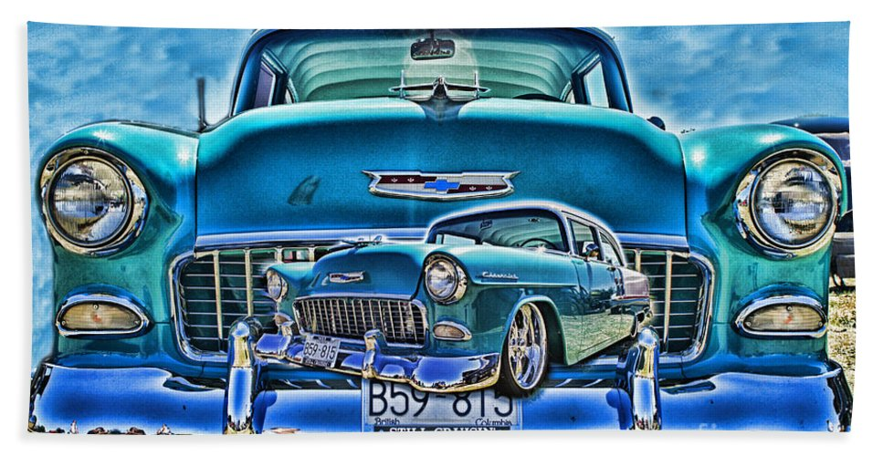 Cars Hand Towel featuring the photograph Cadp0738a-12 by Randy Harris