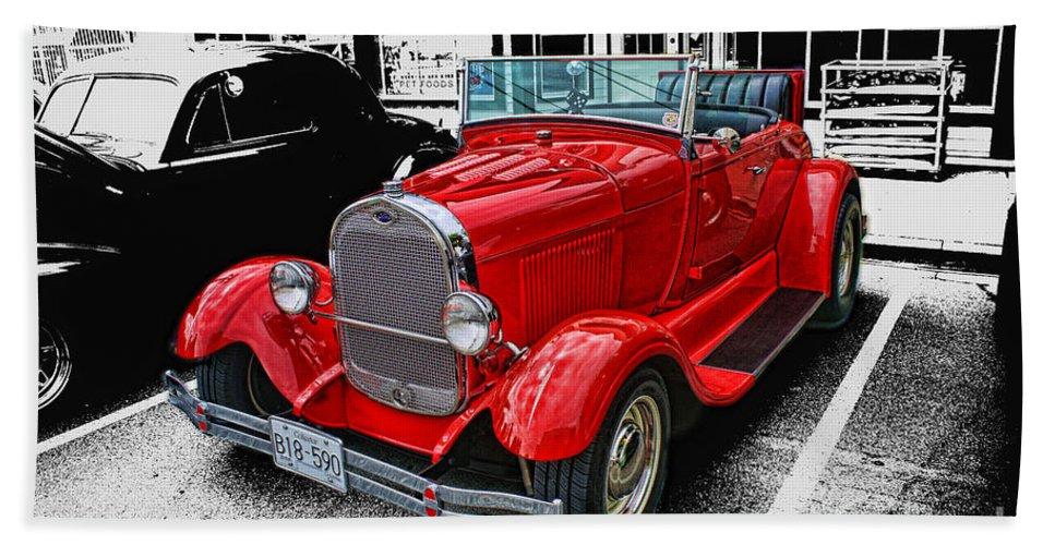 Cars Bath Sheet featuring the photograph Cadp1044-12 by Randy Harris
