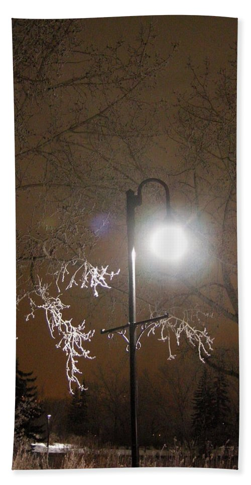 Light Hand Towel featuring the photograph Calgary Alberta 1 by Leanne Karlstrom