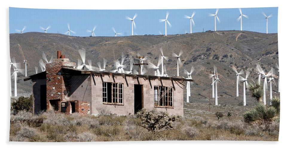 California Wind Bath Sheet featuring the photograph California Wind by Wes and Dotty Weber