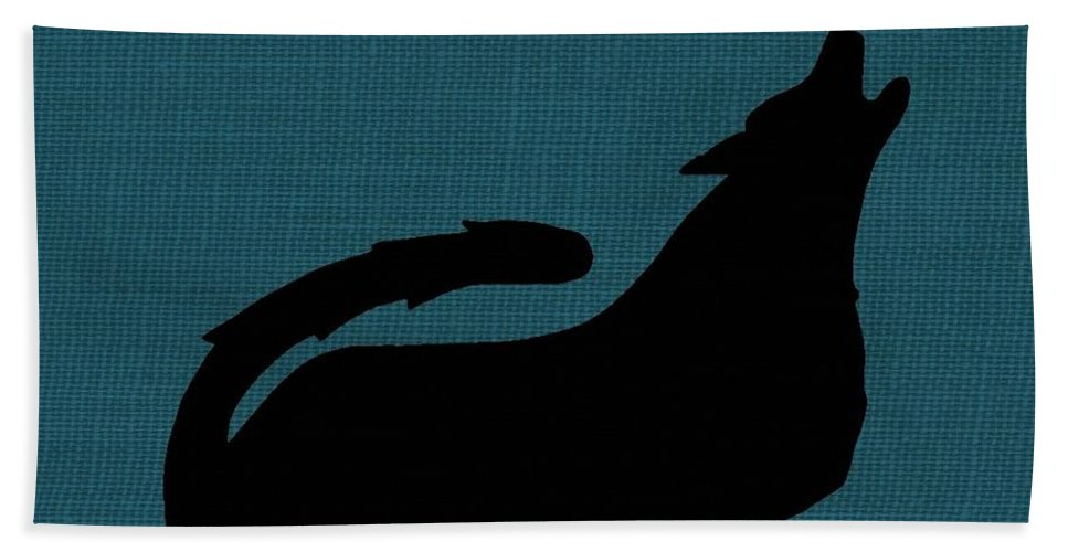 Nature Hand Towel featuring the photograph Canine by Chris Berry