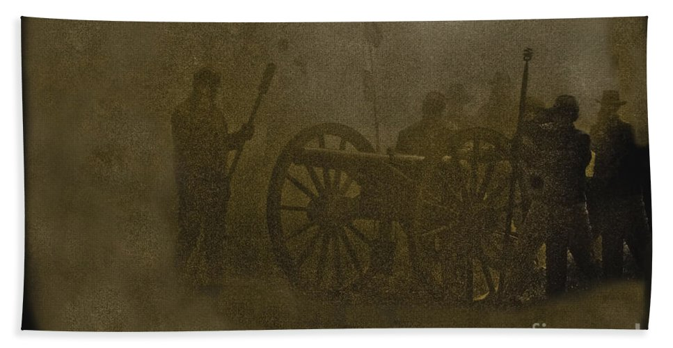 Cannon Bath Sheet featuring the photograph Cannon by Kim Henderson