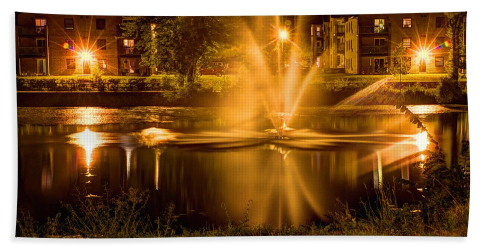 Acrylic Prints Bath Sheet featuring the photograph Casino Royale A La Napanee by John Herzog