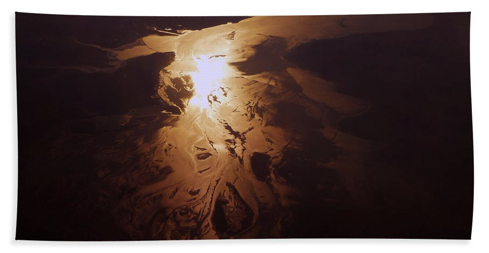 Aerial Photography Hand Towel featuring the photograph Cb1.020354 by Strato ThreeSIXTYFive