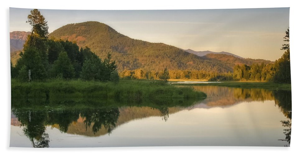 Clark Fork Hand Towel featuring the photograph Clark Fork Delta 3 by Albert Seger