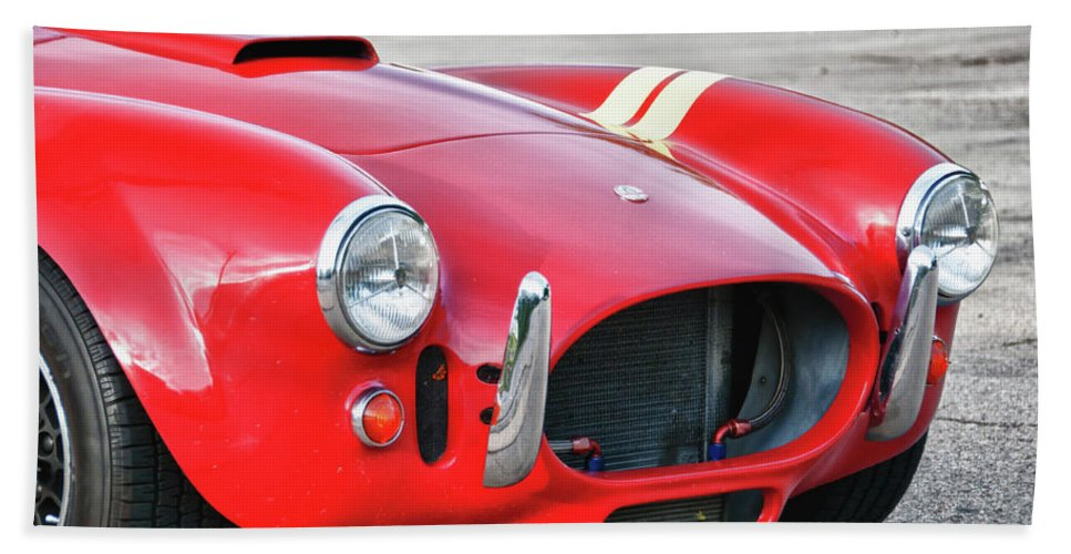 427 Cobra Hand Towel featuring the photograph Cobra 427 by Guy Whiteley