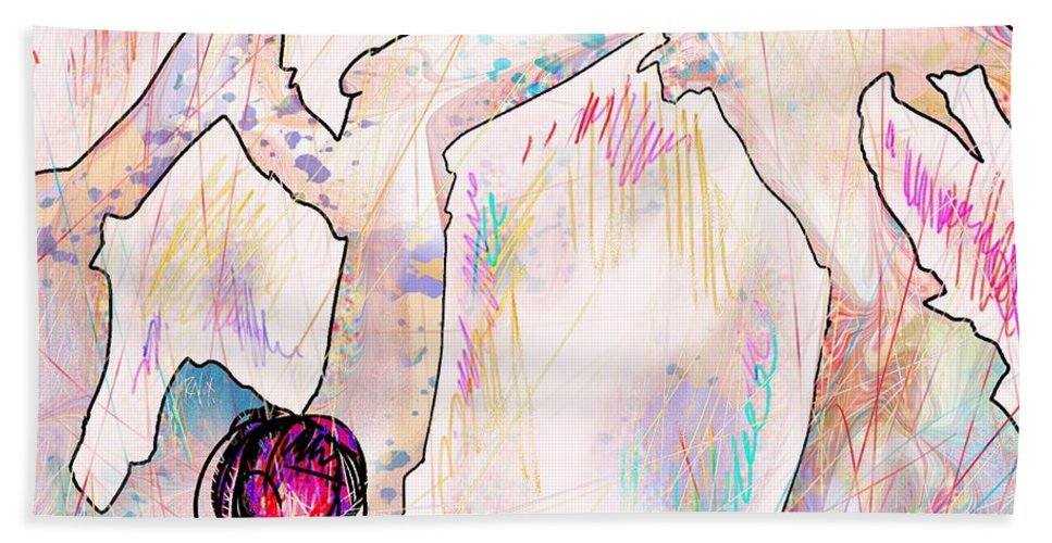 Fantasy Hand Towel featuring the digital art Cold Places by Rachel Christine Nowicki