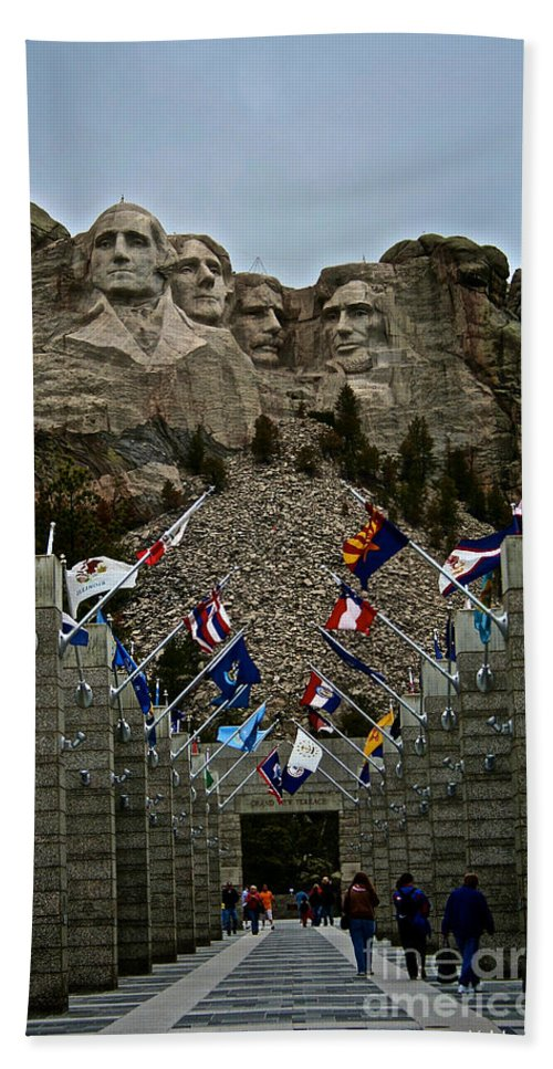 National Park Bath Sheet featuring the photograph Collective by Susan Herber