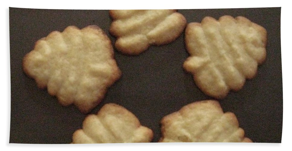 Yummy Cookies Bath Sheet featuring the photograph Cookie Treat For You by Sonali Gangane