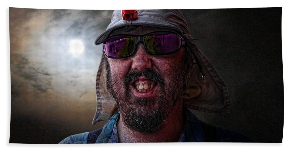 Acrylic Prints Bath Sheet featuring the photograph Cool Hat Colour by John Herzog