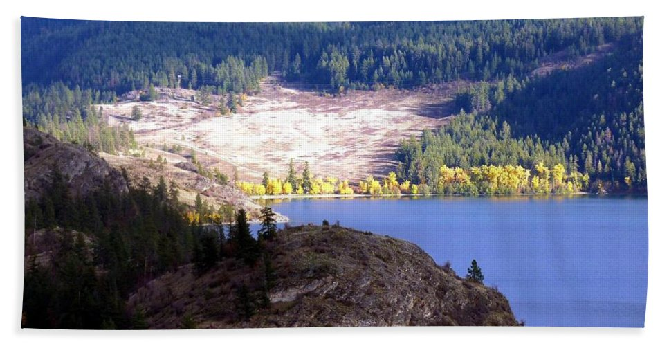 Autumn Bath Sheet featuring the photograph Country Color 4 by Will Borden