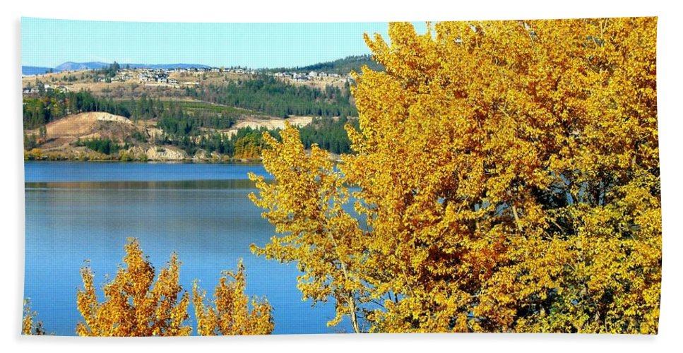 Autumn Bath Sheet featuring the photograph Country Color 5 by Will Borden