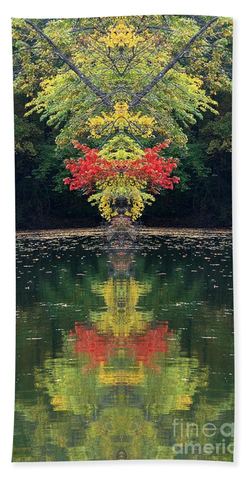 Hand Towel featuring the photograph Creation 112 by Mike Nellums
