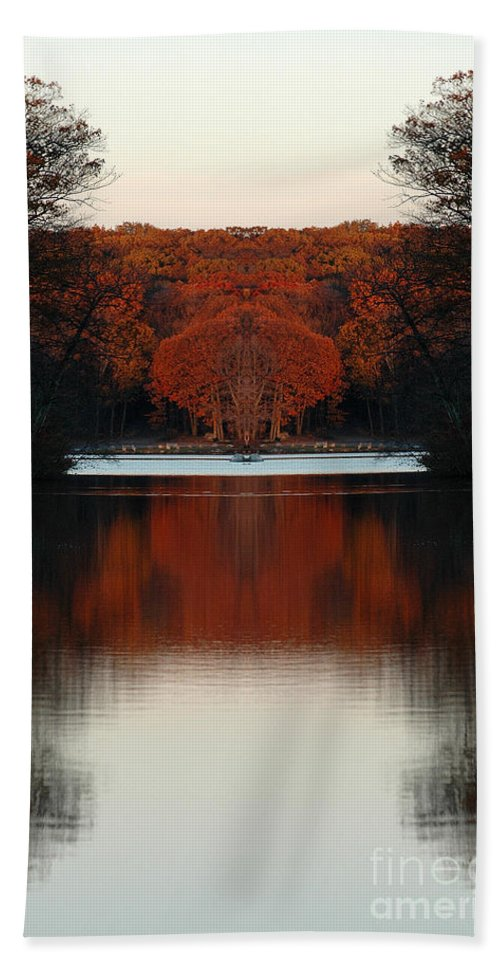 Hand Towel featuring the photograph Creation 12 by Mike Nellums