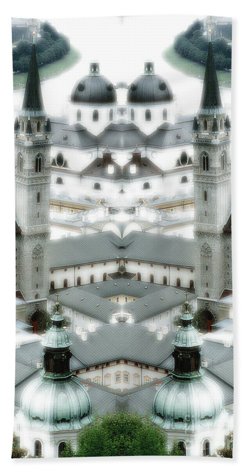 Hand Towel featuring the photograph Creation 126 by Mike Nellums