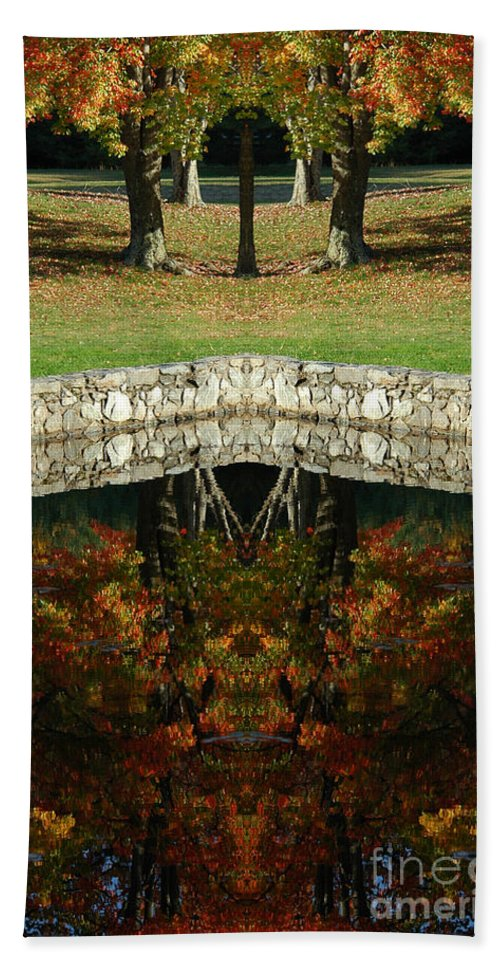 Hand Towel featuring the photograph Creation 15 by Mike Nellums