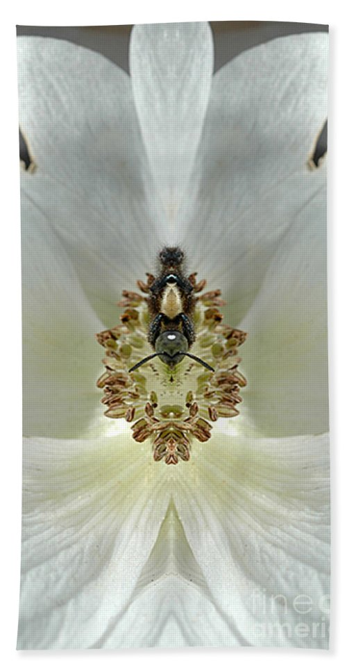 Hand Towel featuring the photograph Creation 34 by Mike Nellums