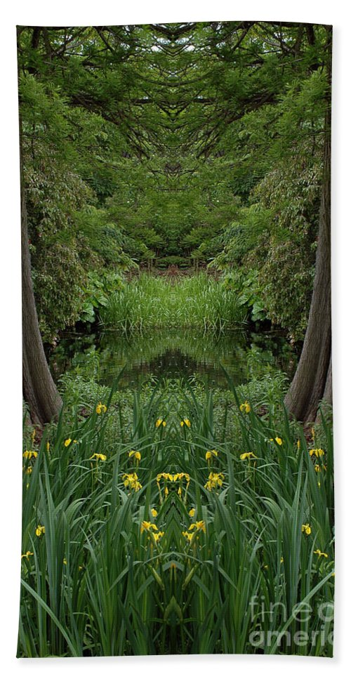 Hand Towel featuring the photograph Creation 66 by Mike Nellums