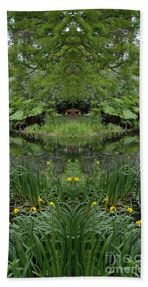 Hand Towel featuring the photograph Creation 67 by Mike Nellums