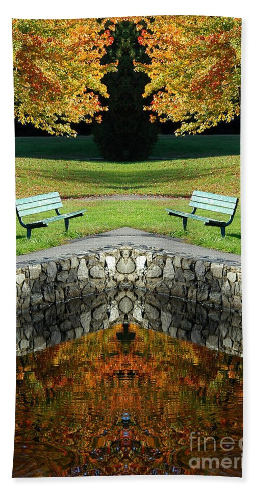 Hand Towel featuring the photograph Creation 9 by Mike Nellums