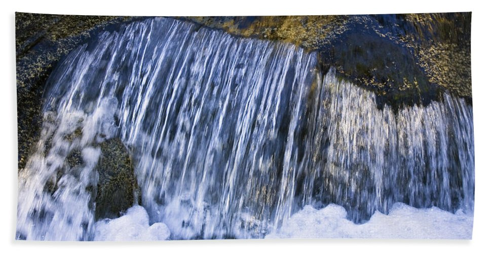 Mp Hand Towel featuring the photograph Creek In Mount Rainier National Park by Konrad Wothe
