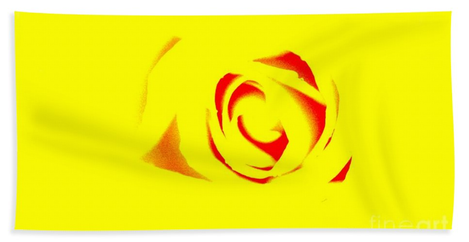 Rose Art Bath Towel featuring the photograph Curves by Kim Henderson