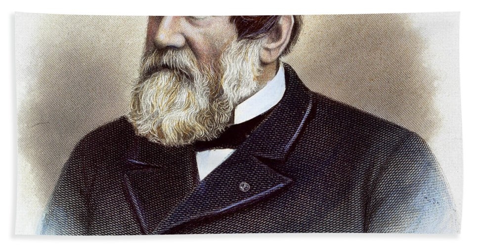 American Bath Sheet featuring the photograph Cyrus Hall Mccormick by Granger