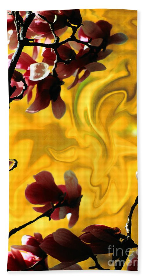 Spring Hand Towel featuring the photograph Dali Spring 3 by Mike Nellums