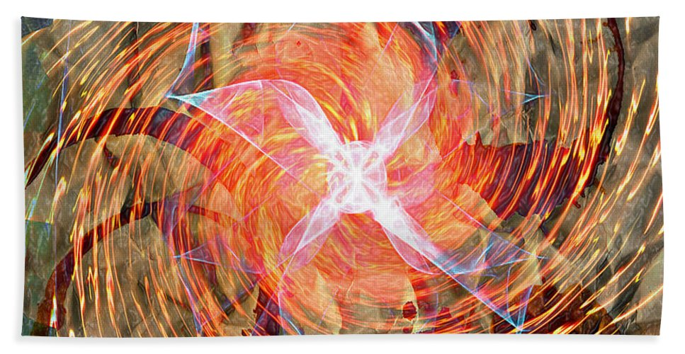 Popular Keywordsthe Keywords Hand Towel featuring the photograph Dance Of Fires by The Artist Project