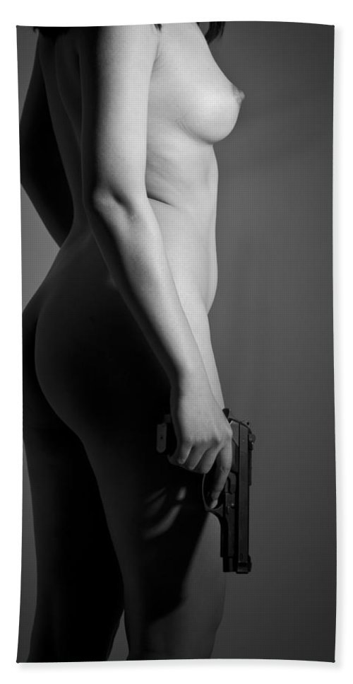 Famale Hand Towel featuring the photograph Dangerous When Hot by Nathan Wright