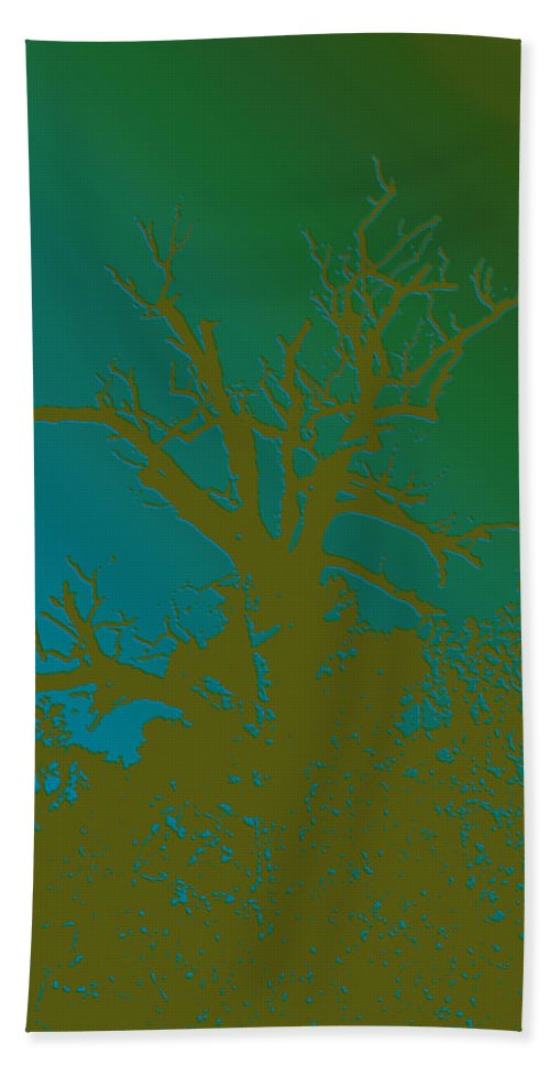 Nature Bath Sheet featuring the photograph Dead Tree IIi by Debbie Portwood