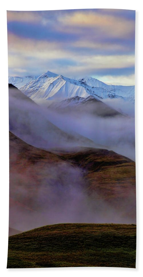 Denali National Park Hand Towel featuring the photograph Denali Dawn II by Rick Berk