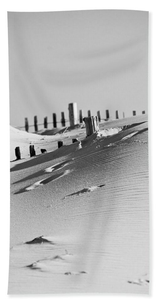 Sand Bath Sheet featuring the photograph Desert Beach by Trish Tritz
