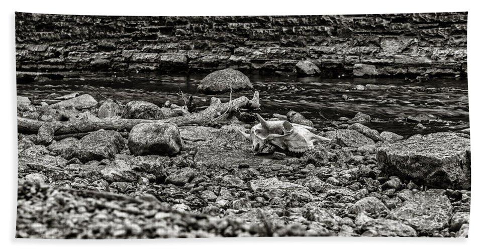 Cj Schmit Bath Sheet featuring the photograph Died Of Thirst by CJ Schmit