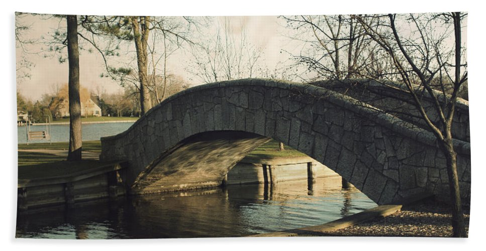 Doty Park Bath Sheet featuring the photograph Doty Park by Joel Witmeyer