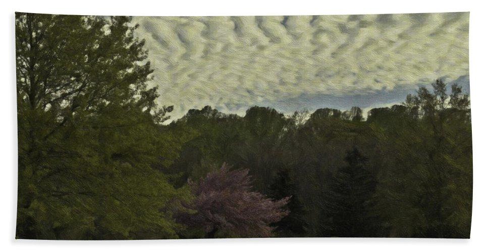 Douglassville Hand Towel featuring the photograph Douglassville Delight by Trish Tritz