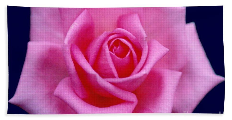 Rose Bath Sheet featuring the photograph Dream Rose by Byron Varvarigos