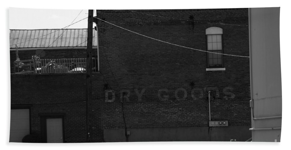 Advertise Bath Sheet featuring the photograph Dry Goods by Alan Look