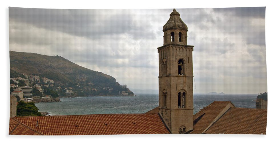 Dubrovnik Bath Sheet featuring the photograph Dubrovnik View 3 by Madeline Ellis