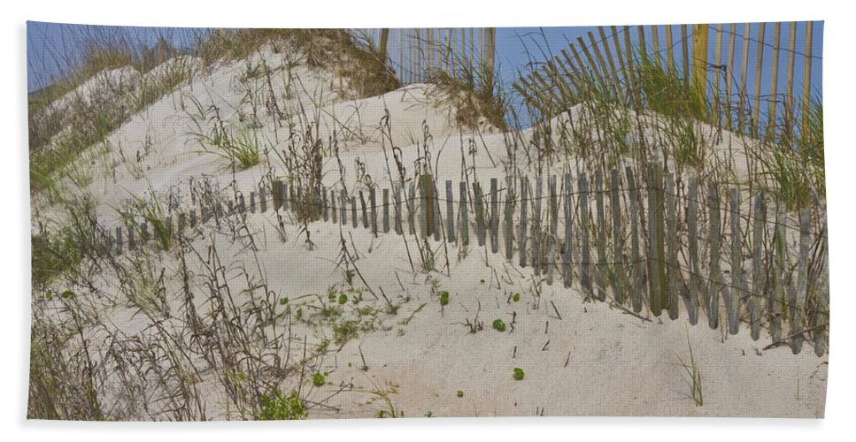 Topsail Bath Sheet featuring the photograph Dunes I by Betsy Knapp