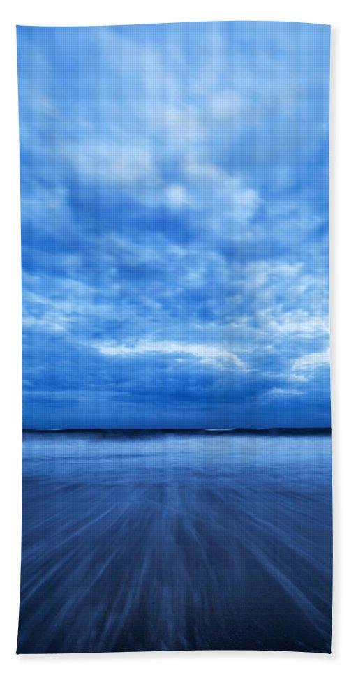Dusk Bath Sheet featuring the photograph Dusk On Fire Island II by Rick Berk