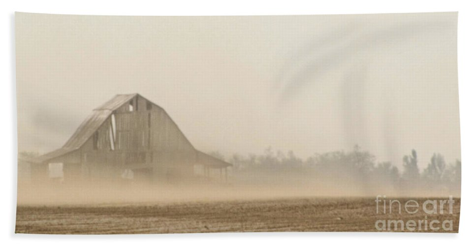 Arcitecture Bath Sheet featuring the photograph Dust In The Wind I by Debbie Portwood