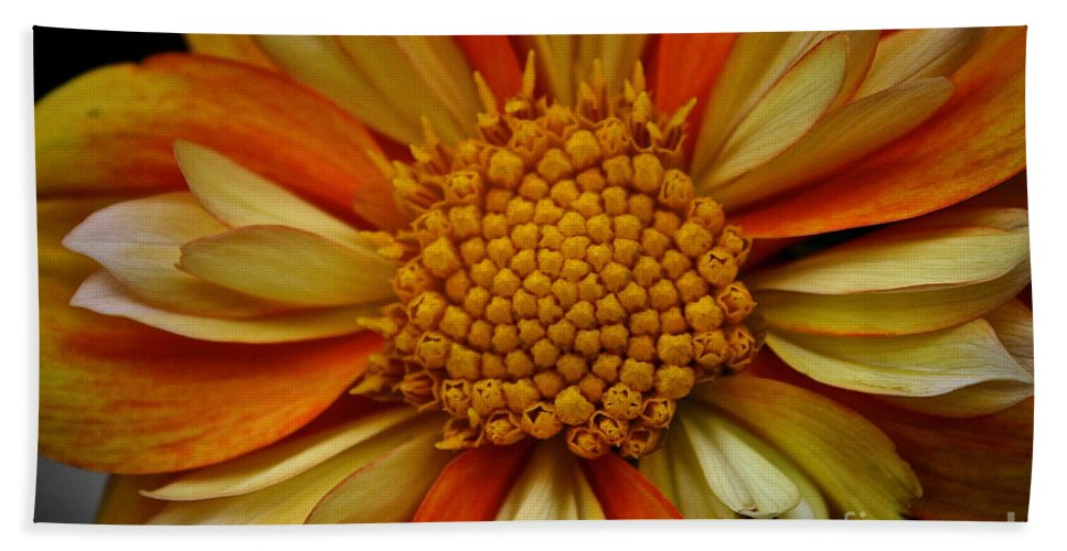 Floral Hand Towel featuring the photograph E Z Duzzit by Susan Herber