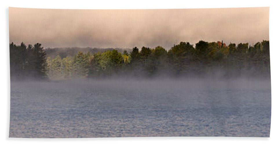 Eagle Lake Hand Towel featuring the photograph Eagle Lake Panorama by Cale Best