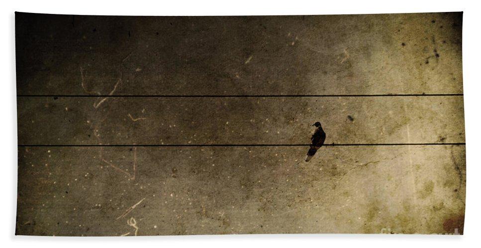 Bird Bath Sheet featuring the photograph Emotional Distance by Andrew Paranavitana