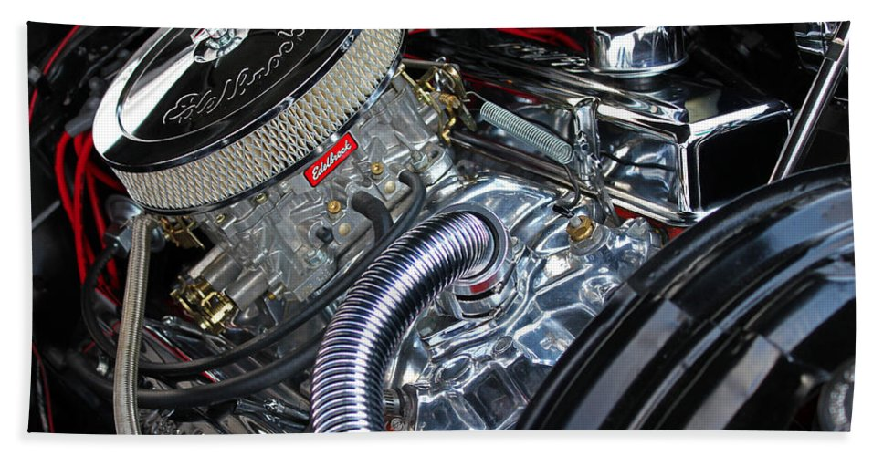 Car Hand Towel featuring the photograph Engine 632 by Carolyn Stagger Cokley