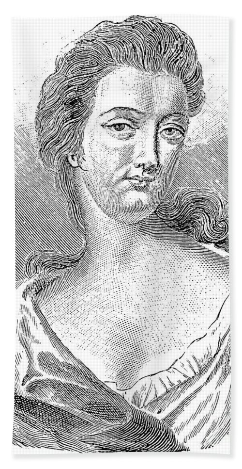 18th Century Hand Towel featuring the photograph Esther Johnson (1681-1728) by Granger