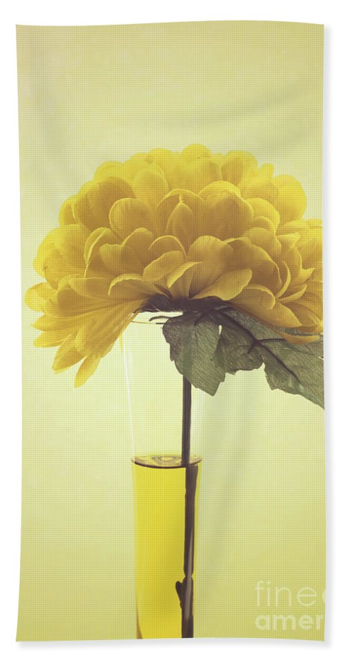 Yellow Bath Sheet featuring the photograph Estillo - S03-01q by Variance Collections