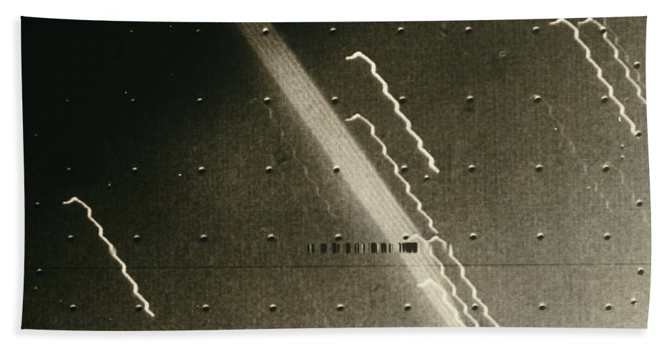 Astronomy Hand Towel featuring the photograph Faint Ring Around Planet Jupiter by NASA / Jet Propulsion Laboratory